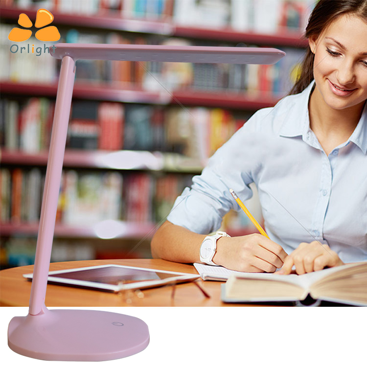 Dimmable Eye Protection Touch Sensor Office Reading Book Desk Light Wireless Led Bedside Table Lamps