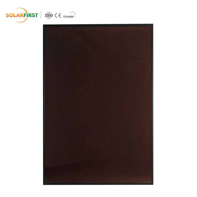 10% Transparent 100w Residential Amorphous Small Scale Solar Panel