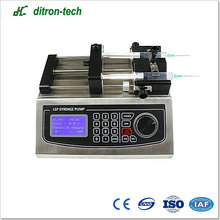 Hot Sell updated dual channels syringe pump for injection system