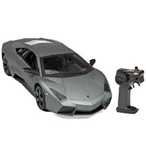 Get Quotations · Lamborghini Reventon (Gray) 1:14 Scale NKOK LUXE Radio  Control Car With Working