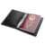 Simple Black Slim Genuine Leather Passport Holder