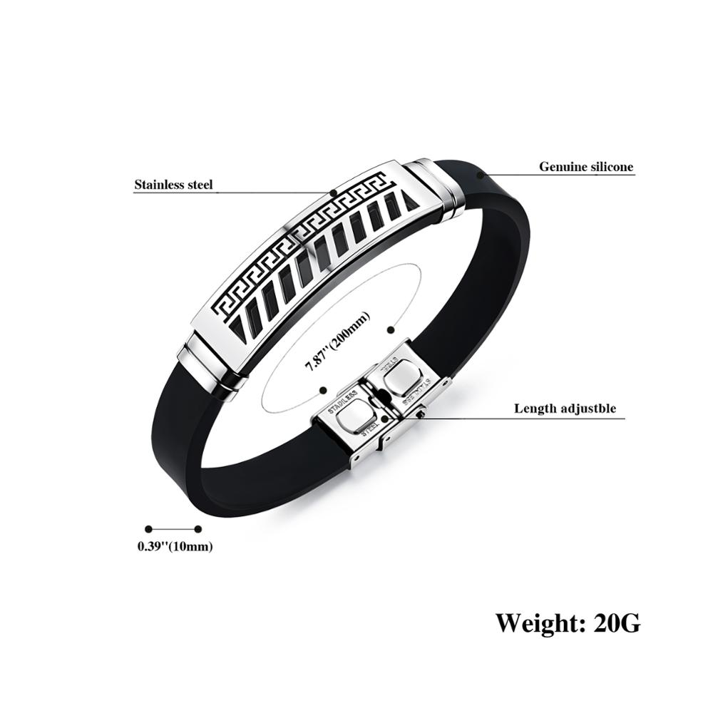 Promotional Mass Production Thin Silicone Bracelet Custom Logo With Metal Buckle
