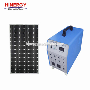 500w Portable Solar System Includes Solar Panel battery inverter controller