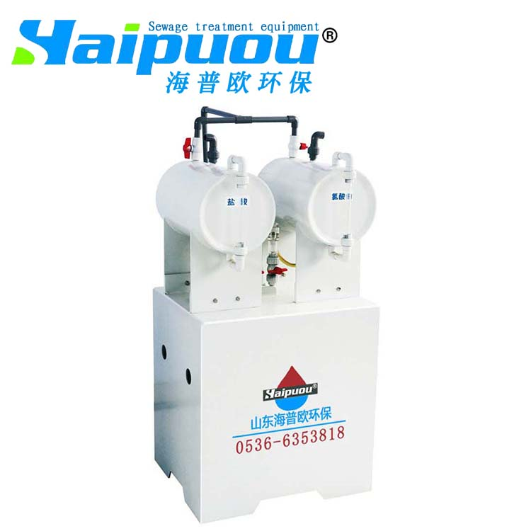 Environmental protection equipment for wastewater treatment by chlorine dioxide generator