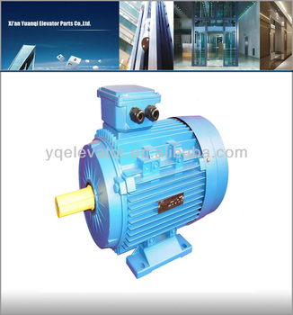 Electric Elevator Motor Three Phase Motor Gearless