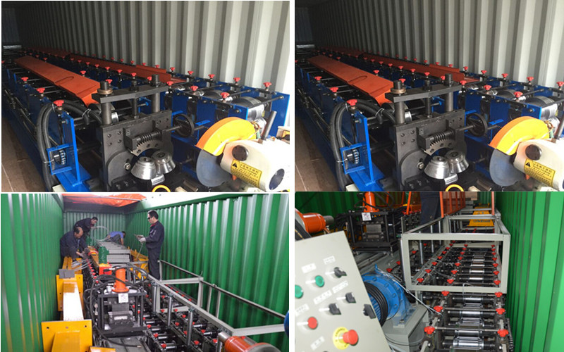Competitive price high speed fence post roller making machine