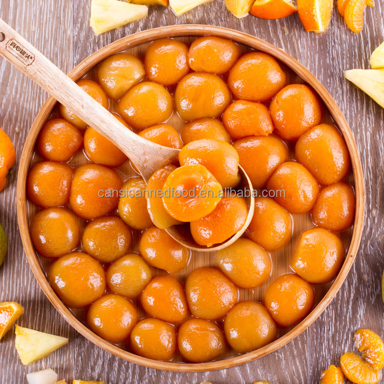 Bulk Canned Apricots fruit in Halves, Dices, Slices in Light Syrup - China Top 10 Canned Food Manufacturer