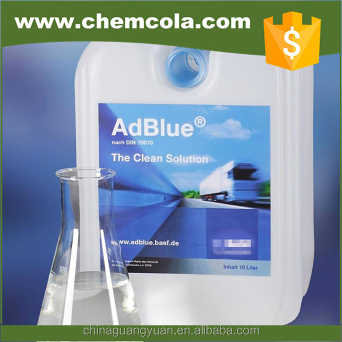 2016 Price AdBlue urea solution/DEF urea fluid for truck exhaust treatment