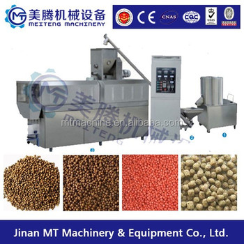 2017 year Best selling Automatic floating fish feed pellet making machine