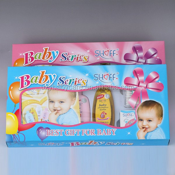 Shoff Baby Bath Gift Set Baby Skin Care Shampoo Lotion Powder 6pcs ...