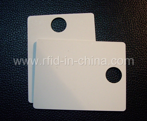 Contactless Read/Write UHF 915MHz rfid wallet hang tag