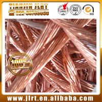 factory price red bulk metal 99.99% purity copper wire scrap millberry
