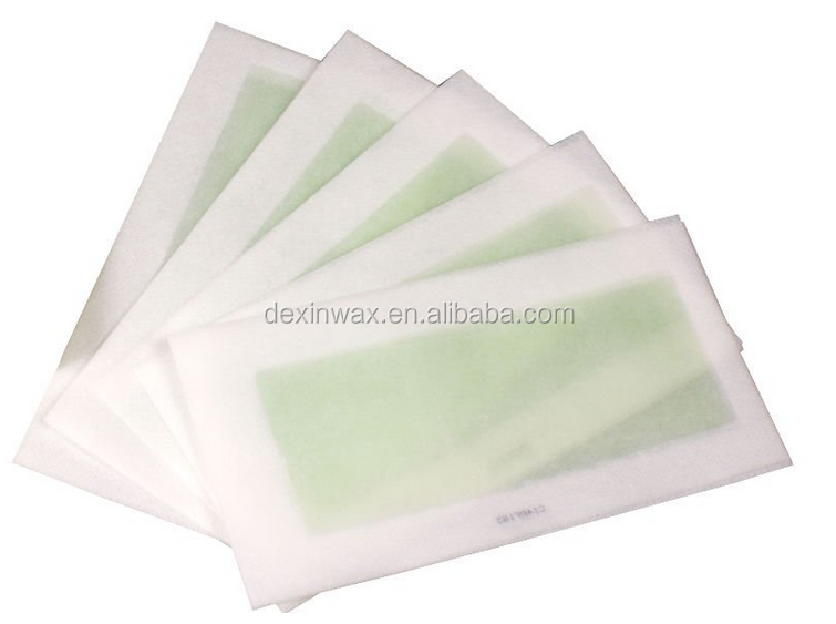 ready wax strip paper waxing nonwoven