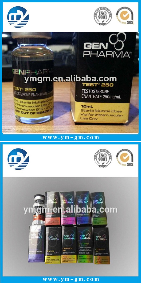 Customized Self Adhesive 10ml Hologram Vial Labels For
