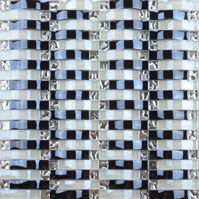 싼 인테리어 장식 mix (eiffel tower) 패턴 (gorilla glass) 모자이크 대 한 벽