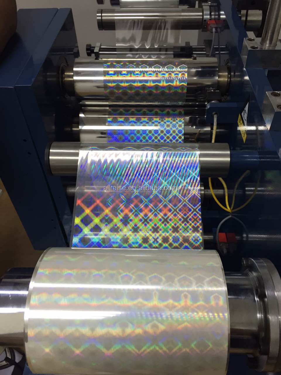 hologram sticker machine