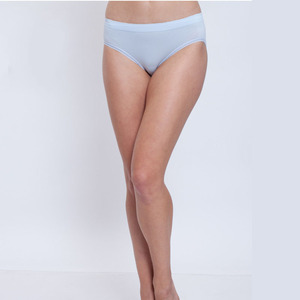 OEM Women briefs pure color high waist underwear woman pantys girl fashion underpants