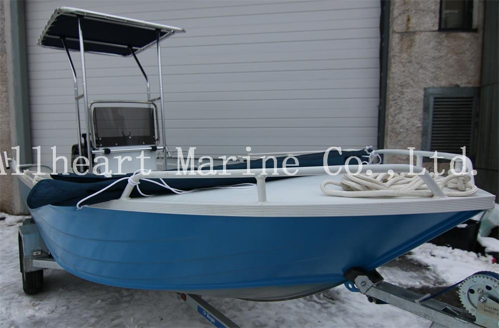 Cheap Aluminum Fishing Boat With Center Console And T Top