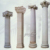 White Marble Hand Carved Exquisite Roman Column