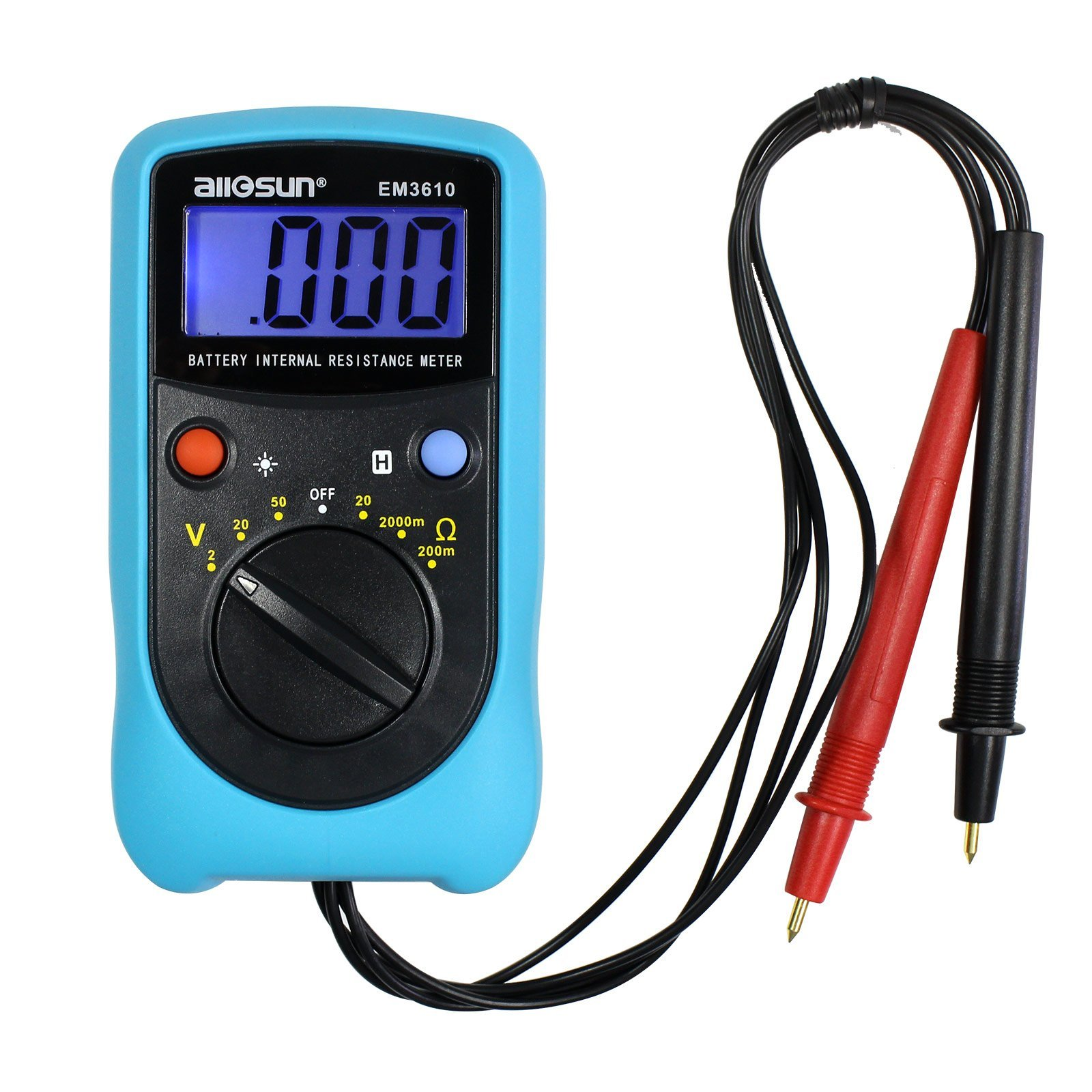 Cheap Internal Resistance Battery Find Laptop Multimeter Tests Checking Voltage And Short Circuits Get Quotations All Sun Meter Tester Digital Analyzer