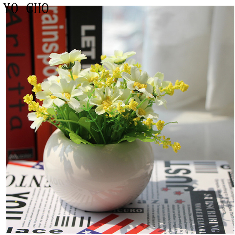 Venta al por mayor jarrones decorativos flores artificialesCompre