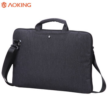 2018 Custom Portable Waterproof Nylon Mens Notebook Computer Bag 15 6 Fashion Office Laptop