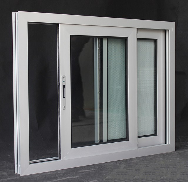 Champagne Color Aluminium Frame Sliding Glass Reception