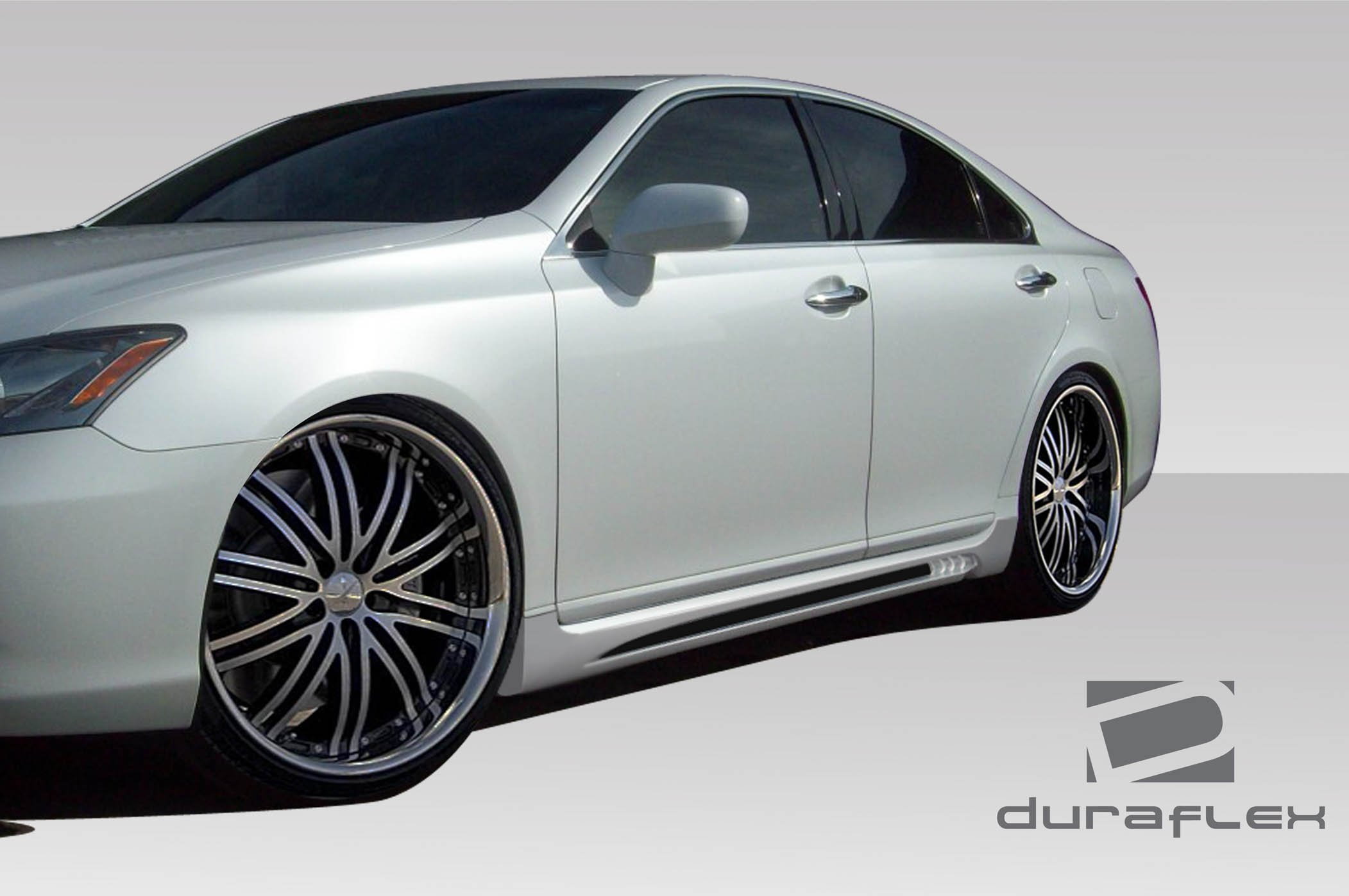 2007-2012 Lexus ES Series ES350 Duraflex AM-S Side Skirt Rocker Panels - 2 Piece