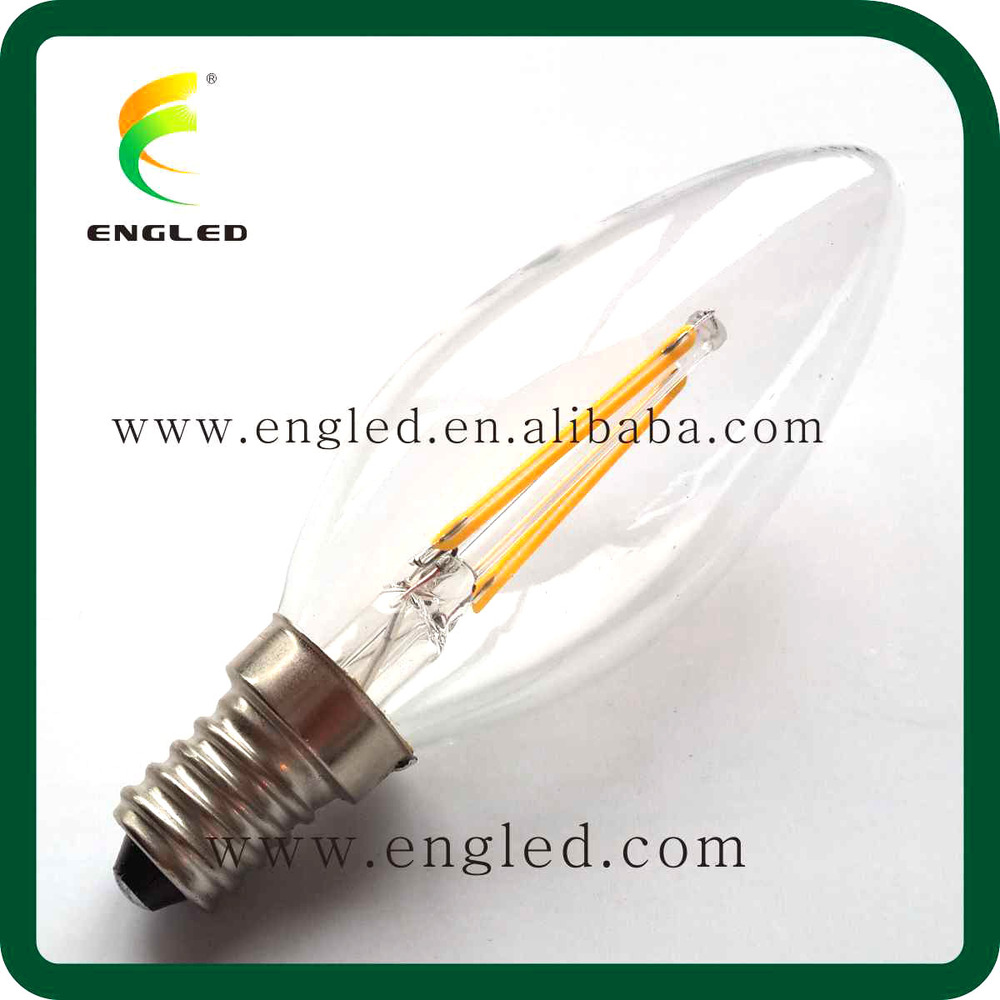 Engled Led Bulb Manufacturing Plant C35 E14 Dimmable 2 Watt Led ...