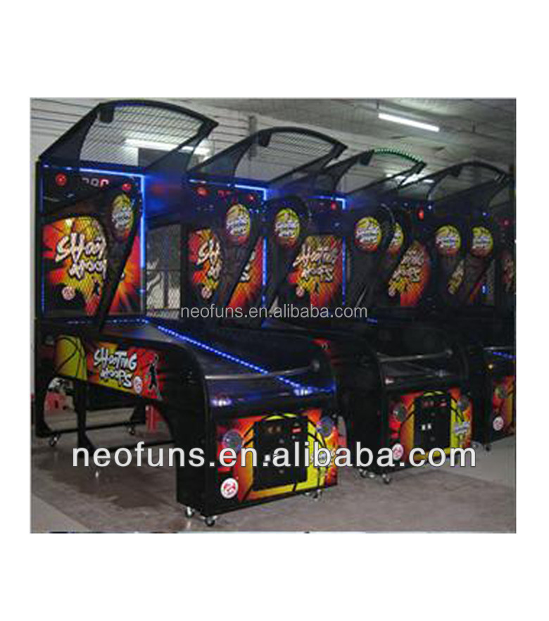 Redemption machine type street basketball game machine,basketball shooting game for sale