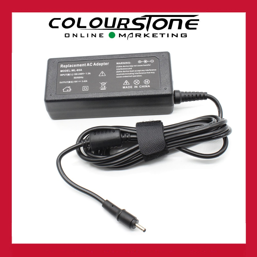 New for Acer S5 S7 W500 W700 C720 laptop AC power adapter 19v 3.42a 65w DC plug 5.5*1.7mm