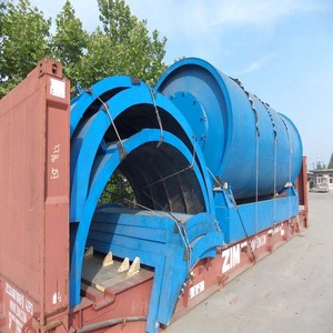Converting Waste Plastic to Fuel Oil Pyrolysis Machine