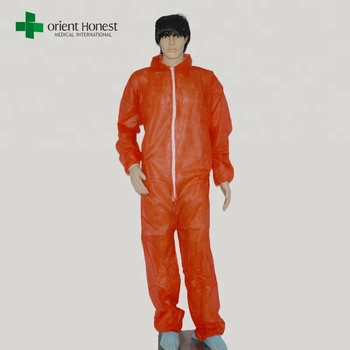 protective disposable non woven clothing for food factory