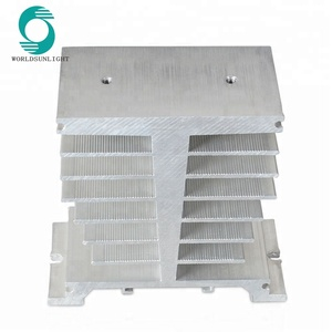 XS-E 100*50*95mm Aluminum Heat Sink for Solid State Relay SSR 100A 120A Heat Dissipation Single Phase SSR Heatsink