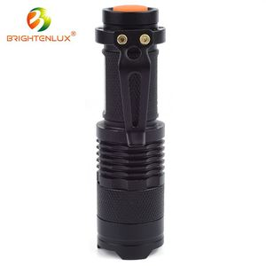 Customized 1.5V Zoom uv flashlight