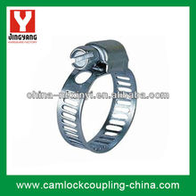 W1 Galvanized Steel Worm-drive hose clamp(American Type)