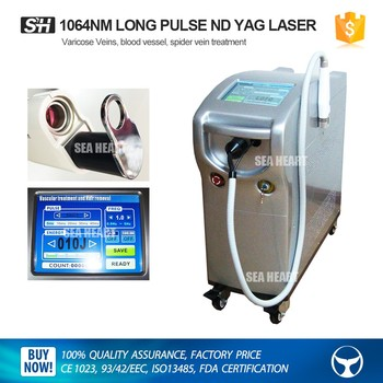 Professional Tattoo Removal Machine Best Long Pulse Nd Yag Laser Hair Removal Machine Q Switch