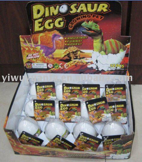Growing Hatching Dinosaur Egg Toy - Buy Growing Pet Egg Toy,Magic ...