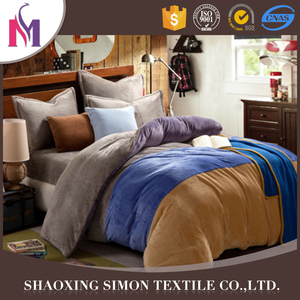 Normal Solid Color Bedding Cover Sets King Quilt sets