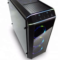 High-End Cooling Fan PC Chassis Desktop Computer ATX Micro Computer Case