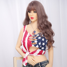 European Green eyes cool lady full size sex doll Captain America doll