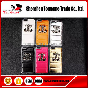 Chrome hearts series mobile covers for iphones 6s