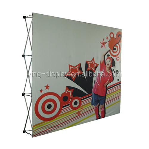 10ft Easy Popup Trade Show Display with oxford Bag