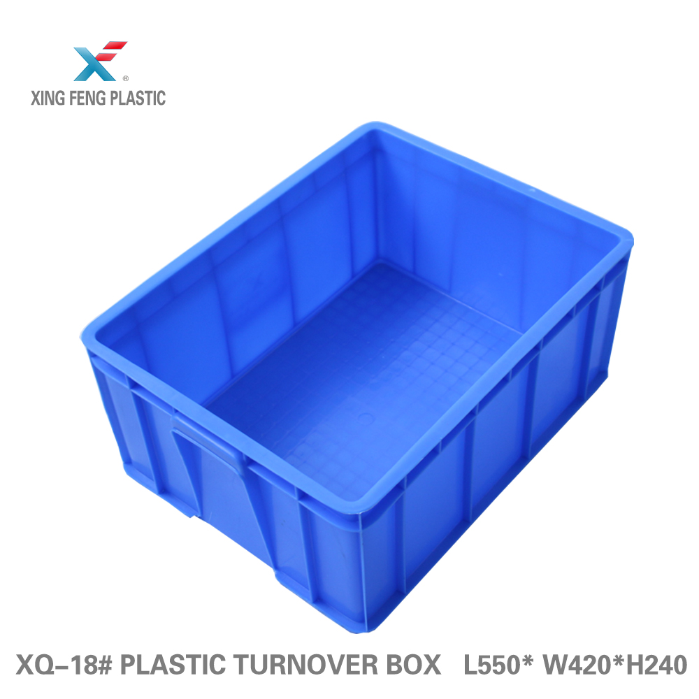 Manufacture mesh style storage box plastic straight wall container