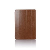 9.7 inch leather stand smart case cover low price business waterproof book folder tablet back cover