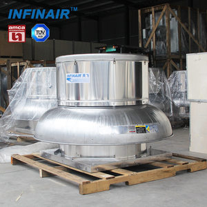 industrial centrifugal roof ventilation fan for fire smoke exhaust with TUV certificates
