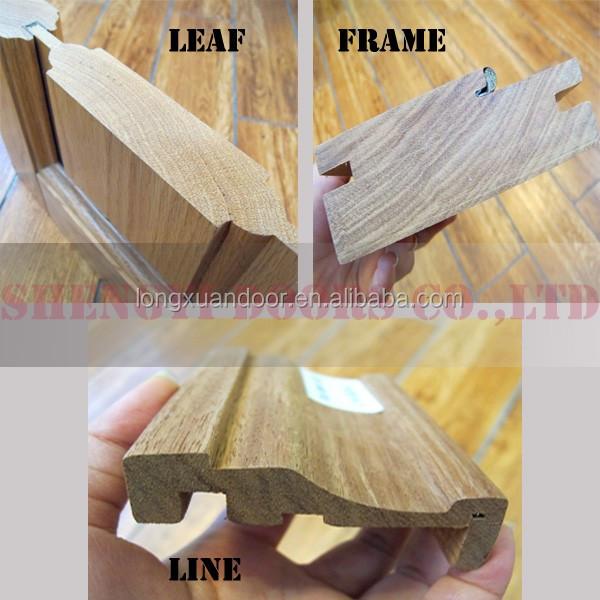 Chinese Factory Solid Wood Door Designs In Pakistan