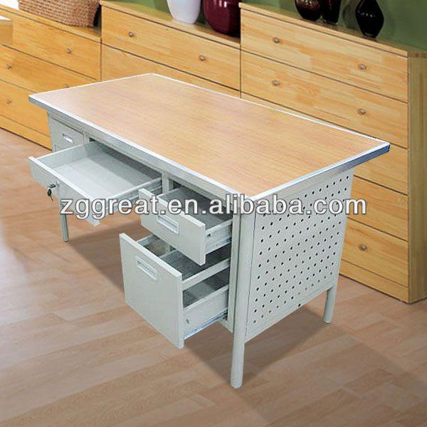 Durable Outdoor Desk Commercial Computer Desks Metal Office Product On Alibaba