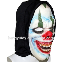 Deluxe Scary Soft Foam Skull Hooded Mask for Halloween Carnival Party