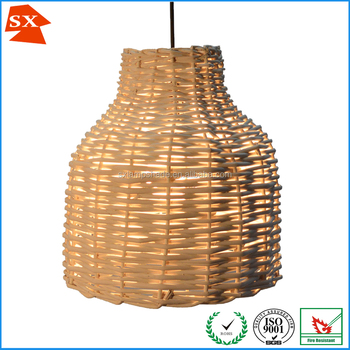 Vintage chic natural ginger woven wicker rattan hotel tea table vintage chic natural ginger woven wicker rattan hotel tea table lamp shade aloadofball Images